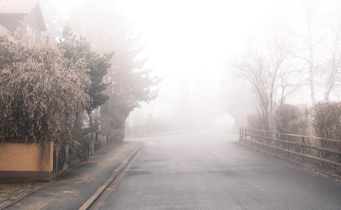 Lautlos im Nebel