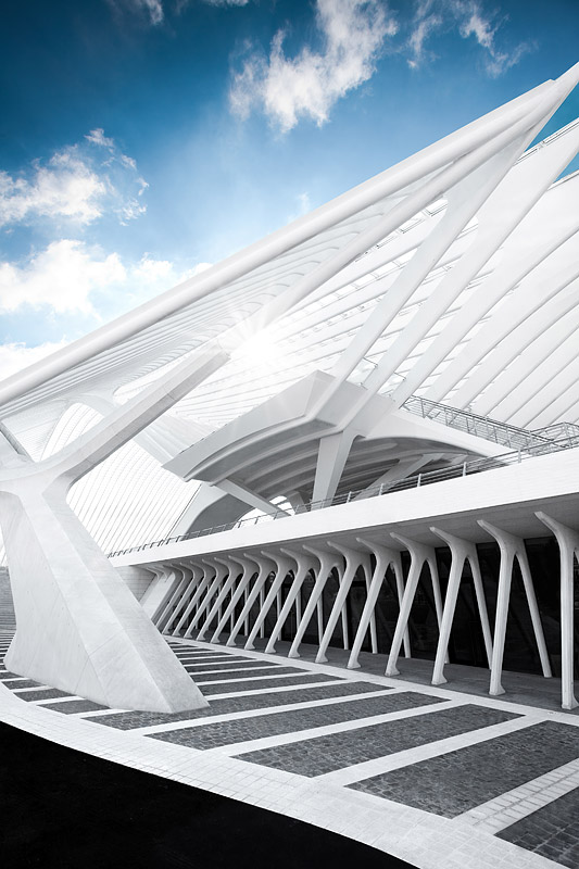 Trainstation Liége-Guillemins