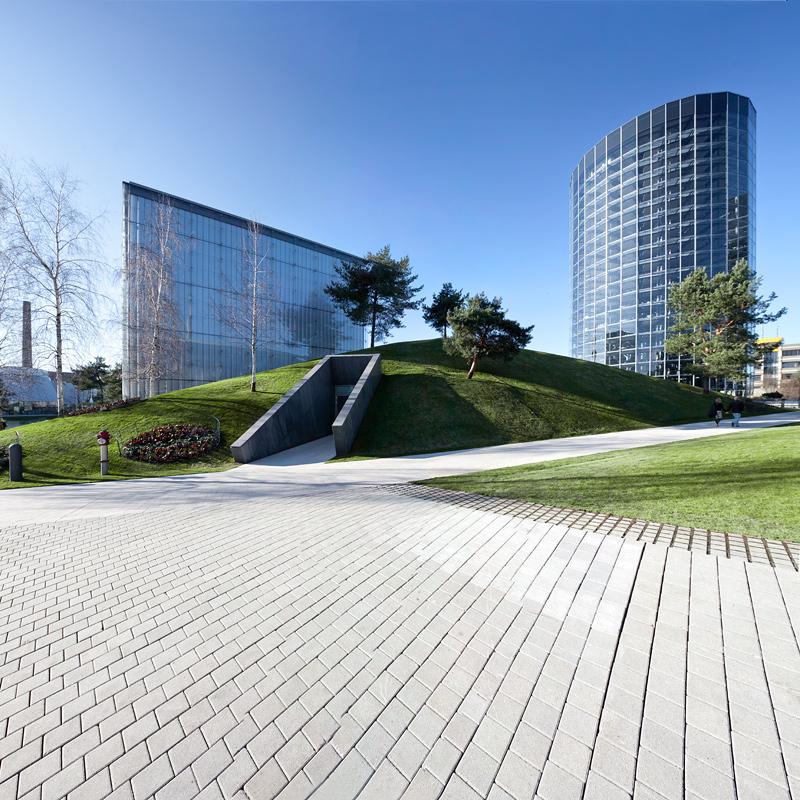 VW Autostadt Wolfsburg Architektur
