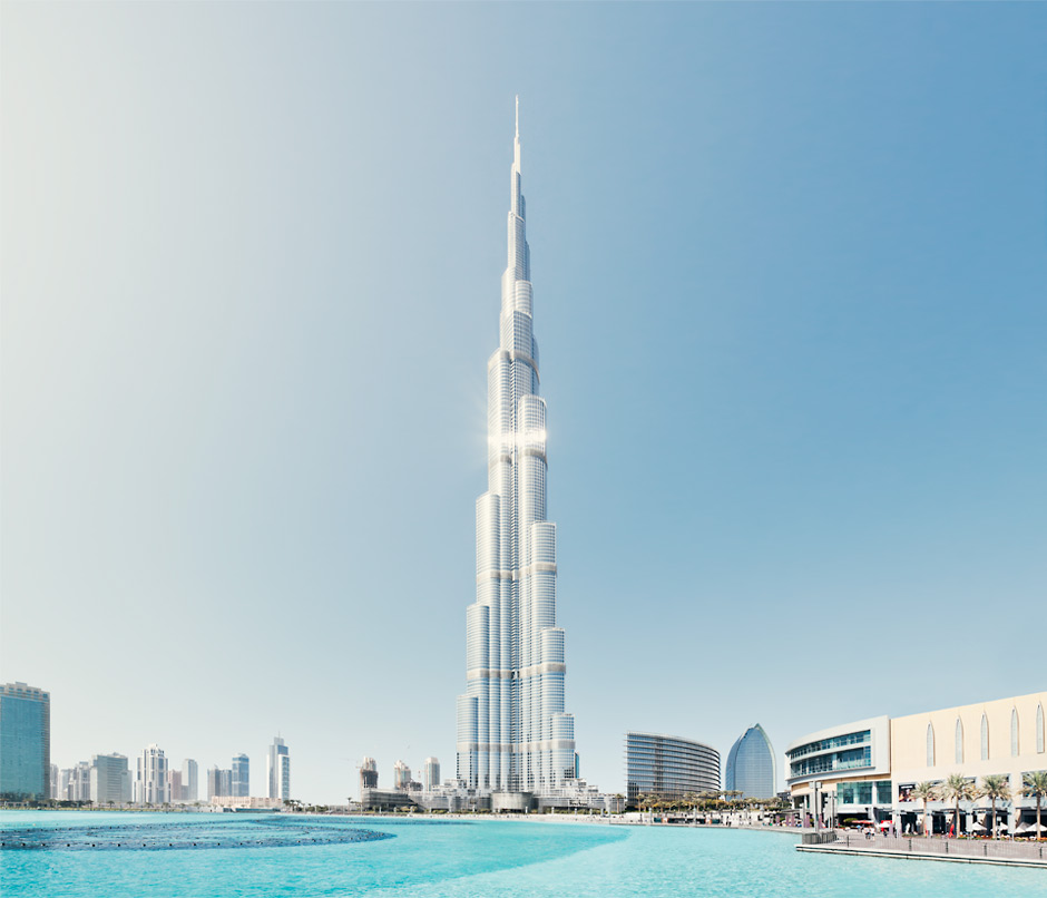 Burj Khalifa Water Dubai Mall