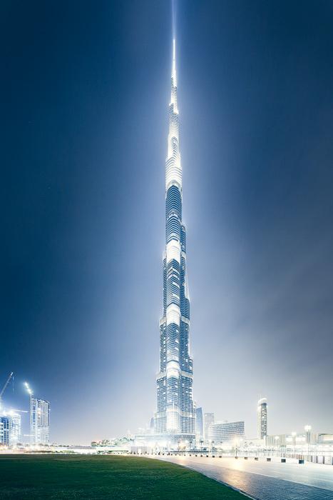 Burj Khalifa fog