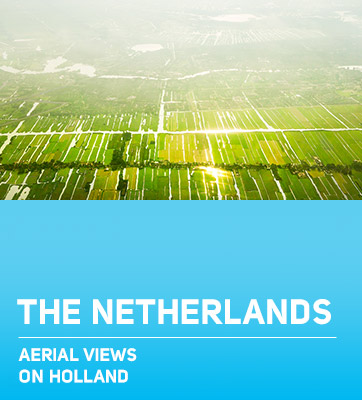 The Netherlands aerial
