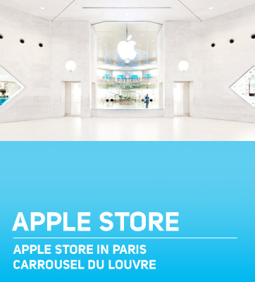 Apple Store Louvre Paris