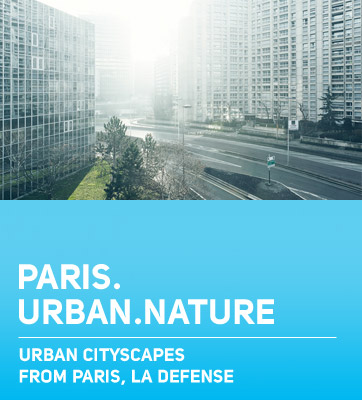 Paris La Defense Urban Nature