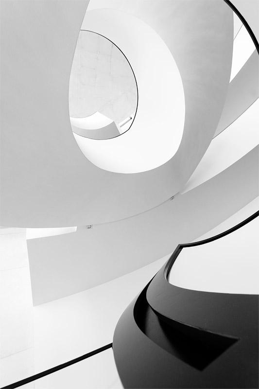 Neues Museum Nürnberg Treppenhaus