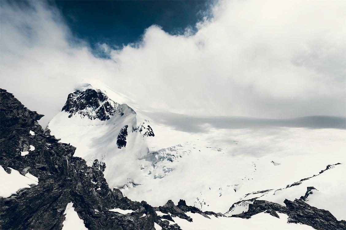 Alpengipfel Landschaftsfoto