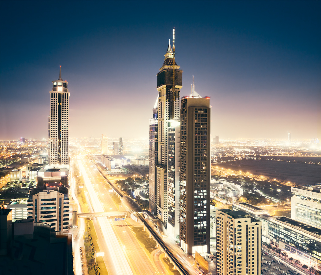 Nightview on Dubai