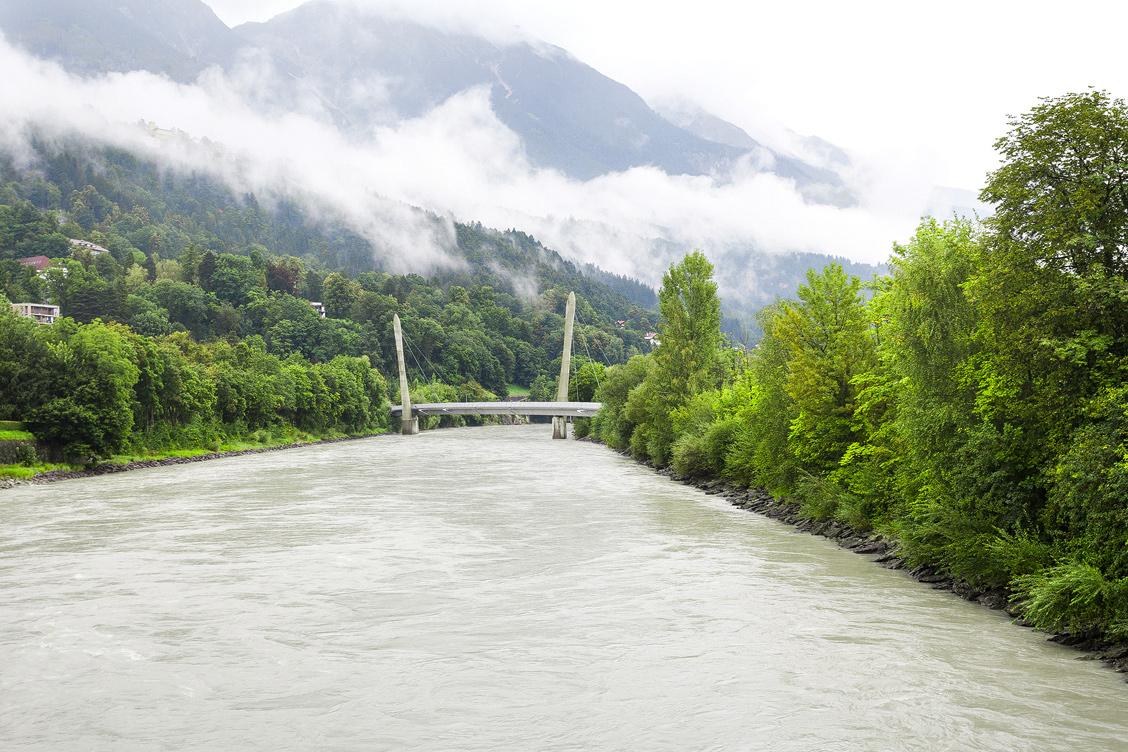 Hungerburgbahn Innsbruck Innbrücke Zaha Hadid