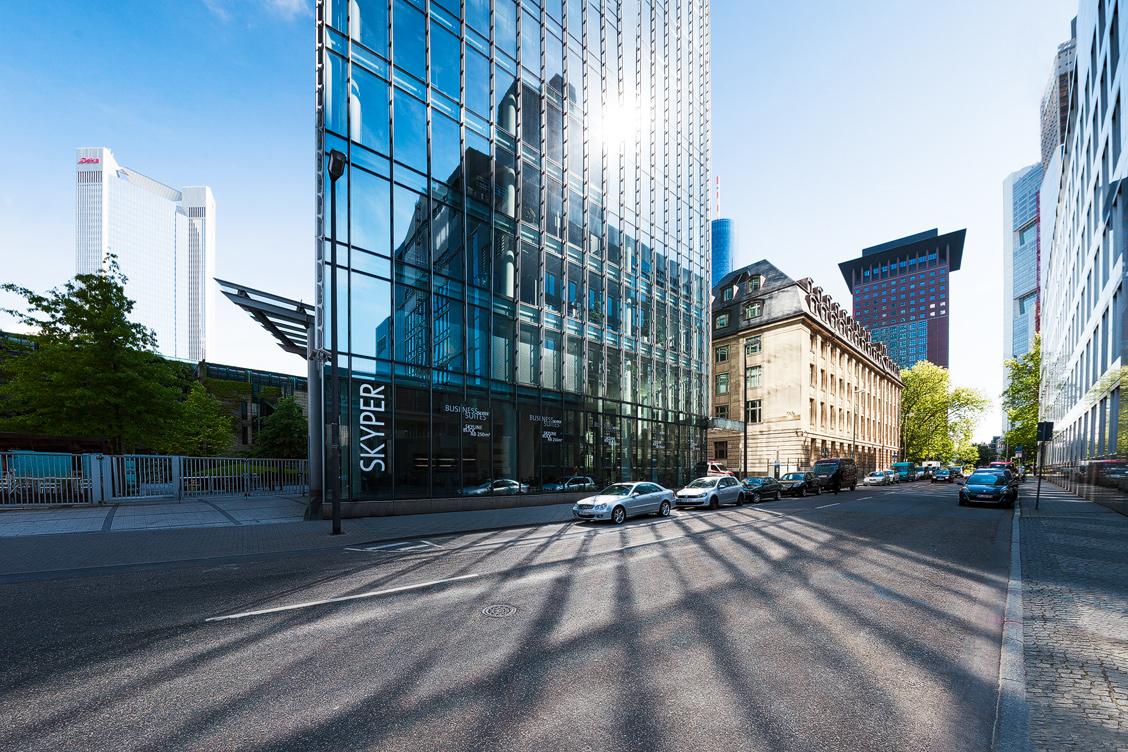 Frankfurt Skyper Bankenviertel