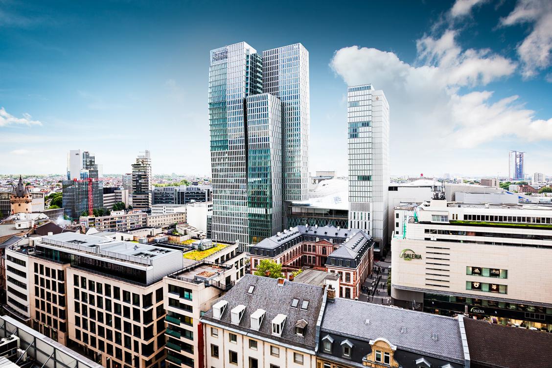 Nextower und Jumeirah Frankfurt