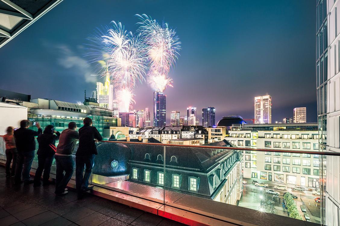 Frankfurt Fireworks Feuerwerk