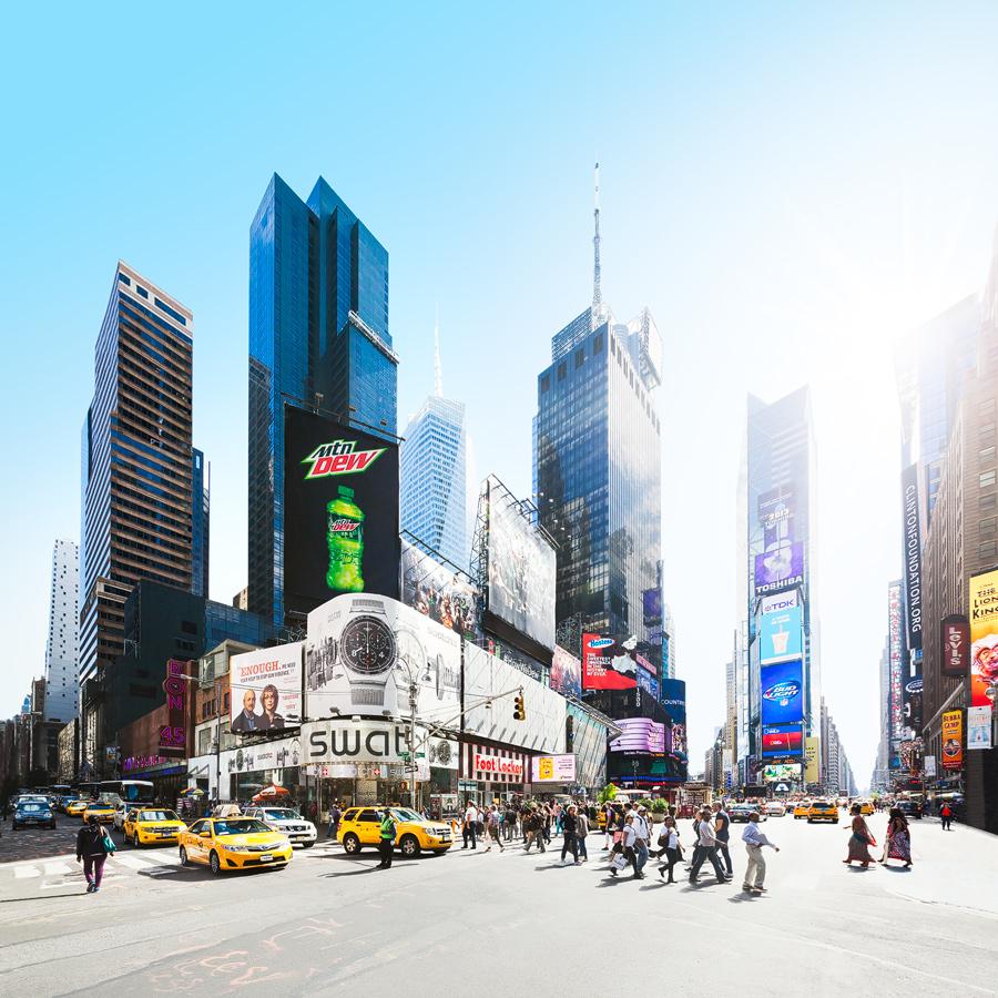 Times Square Architecture