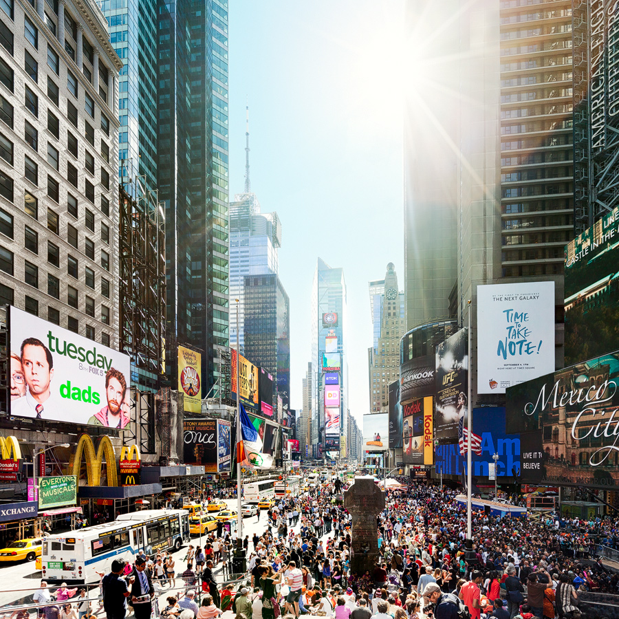 Times Square NYC overview