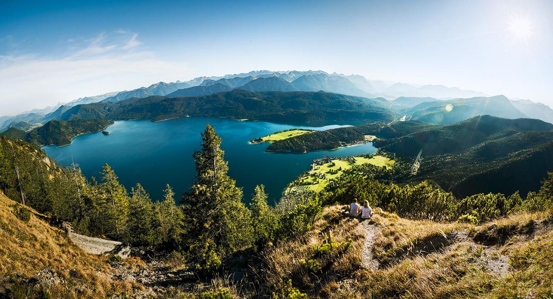 Walchensee Panorama – Ausblick vom Herzogstand
