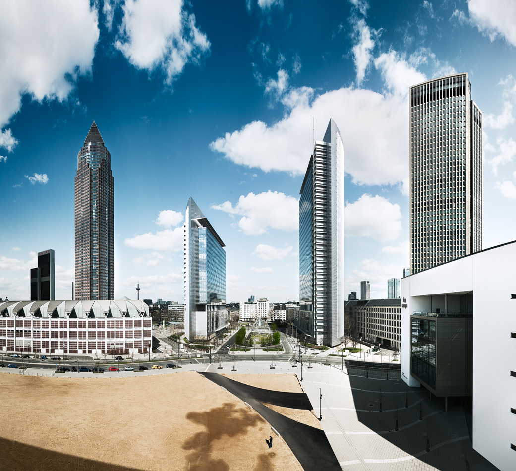 Frankfurt Ausblick Sky Plaza