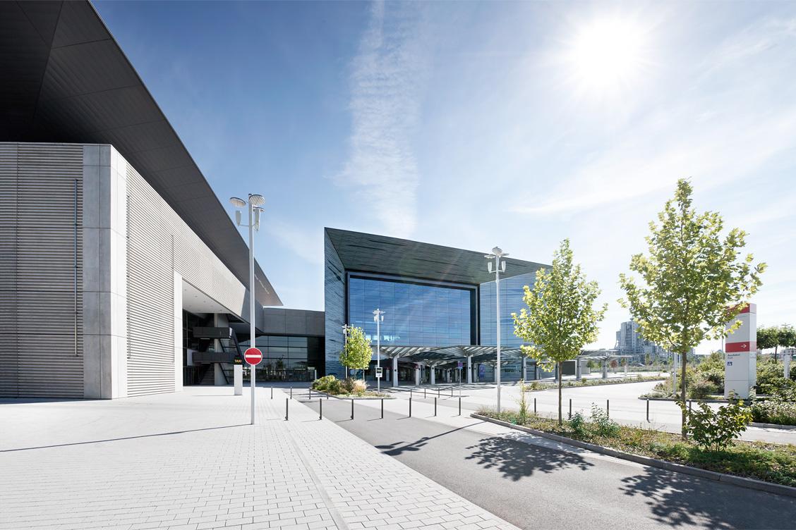 Frankfurt Messe – Eingang Portalhaus