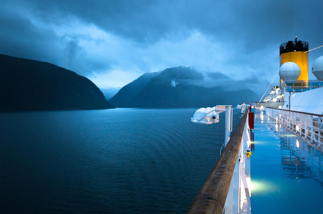 Kreuzfahrt Norwegen Fjord