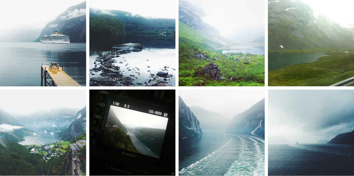 Hellesylt and Geiranger Fjord