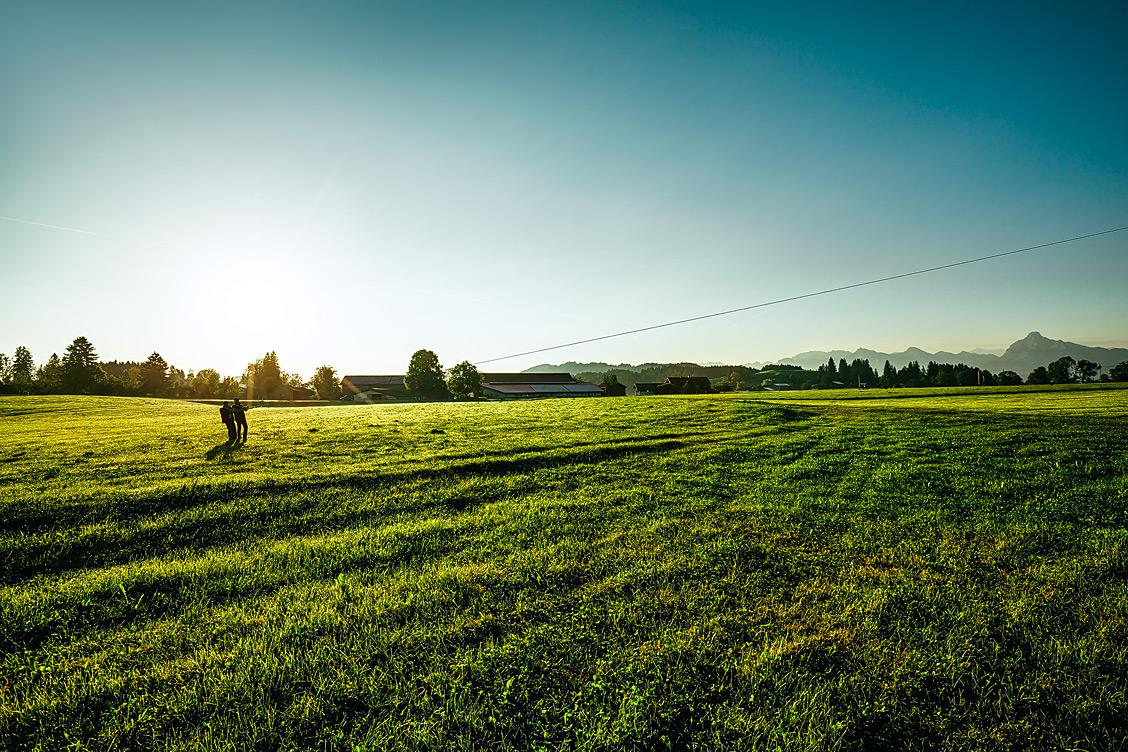 Morgenstimmung im bayrischen Allgäu