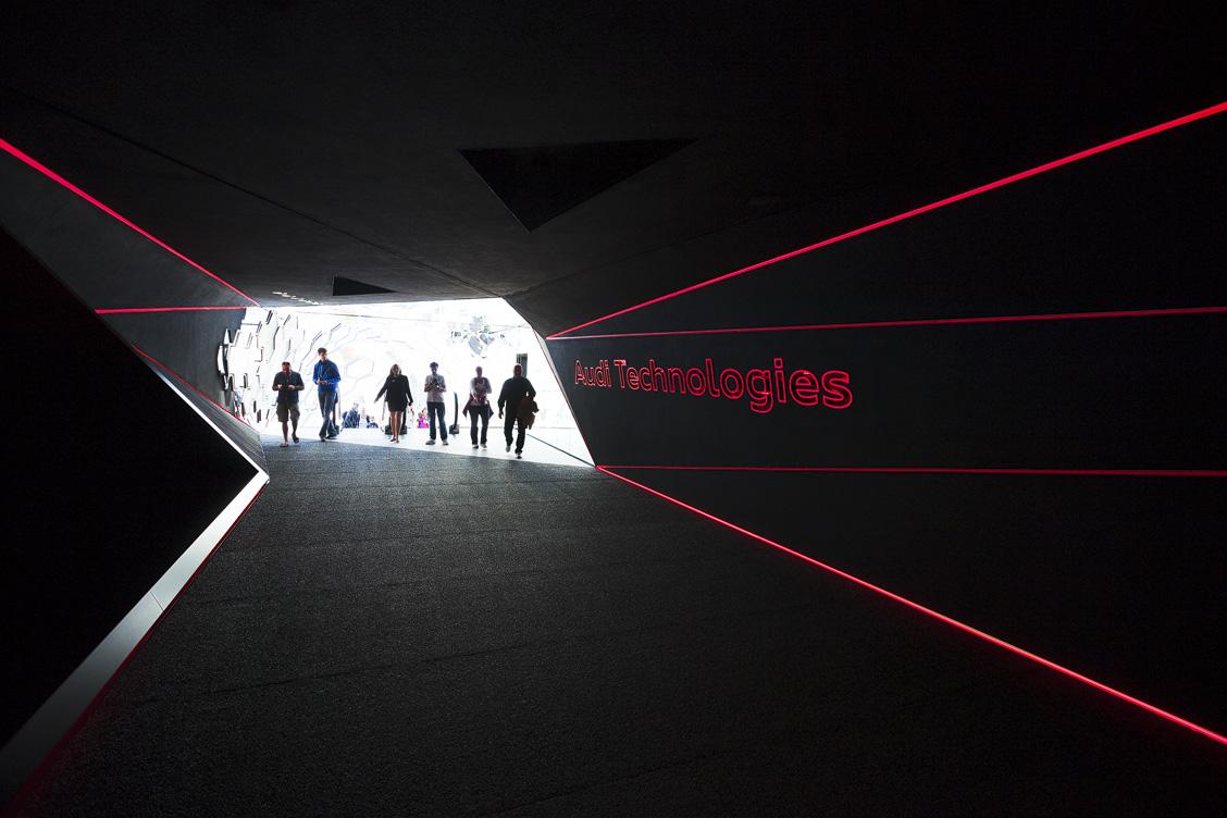 Audi Technologies Experience Walk IAA 2015