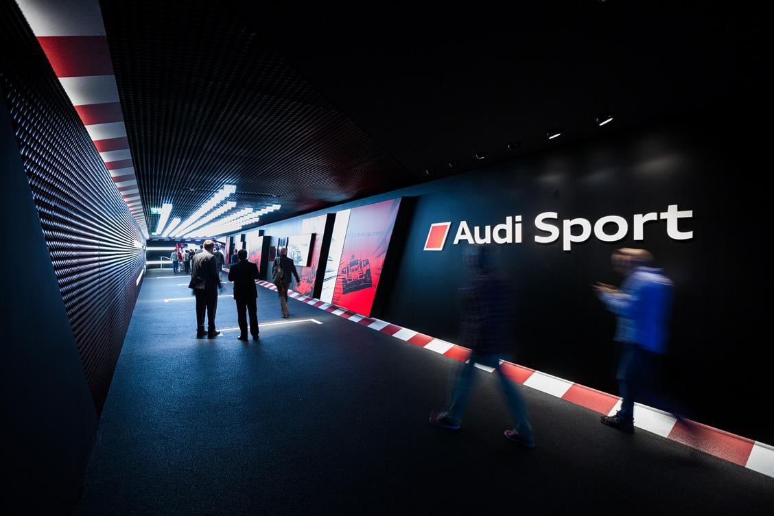 Audi Sport Experience Walk IAA 2015 Messestand
