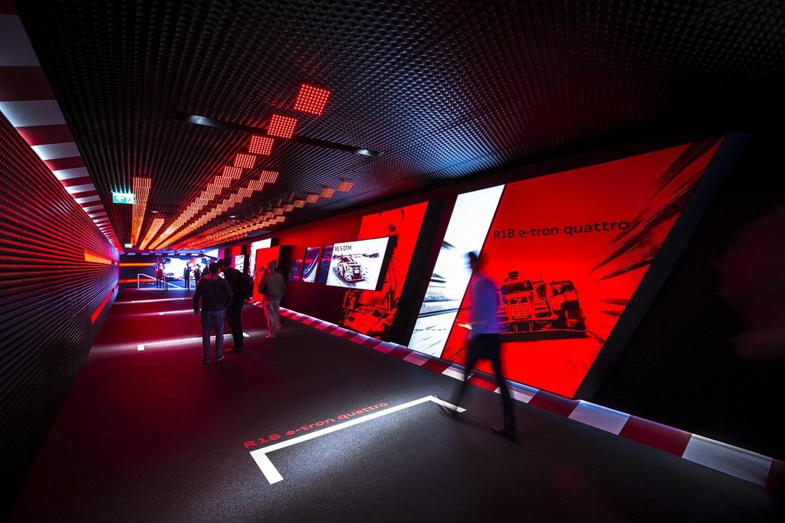 Audi Sport – Messestandarchitektur auf der IAA 2015