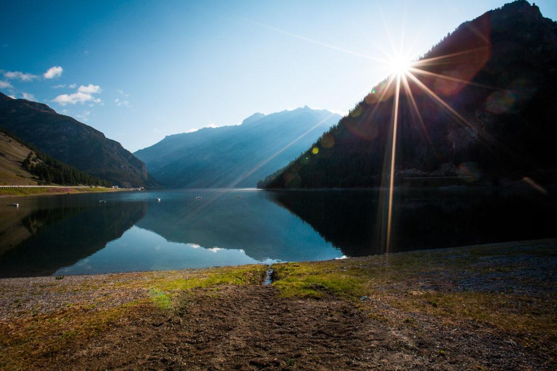 Lago di Livigno Sunset
