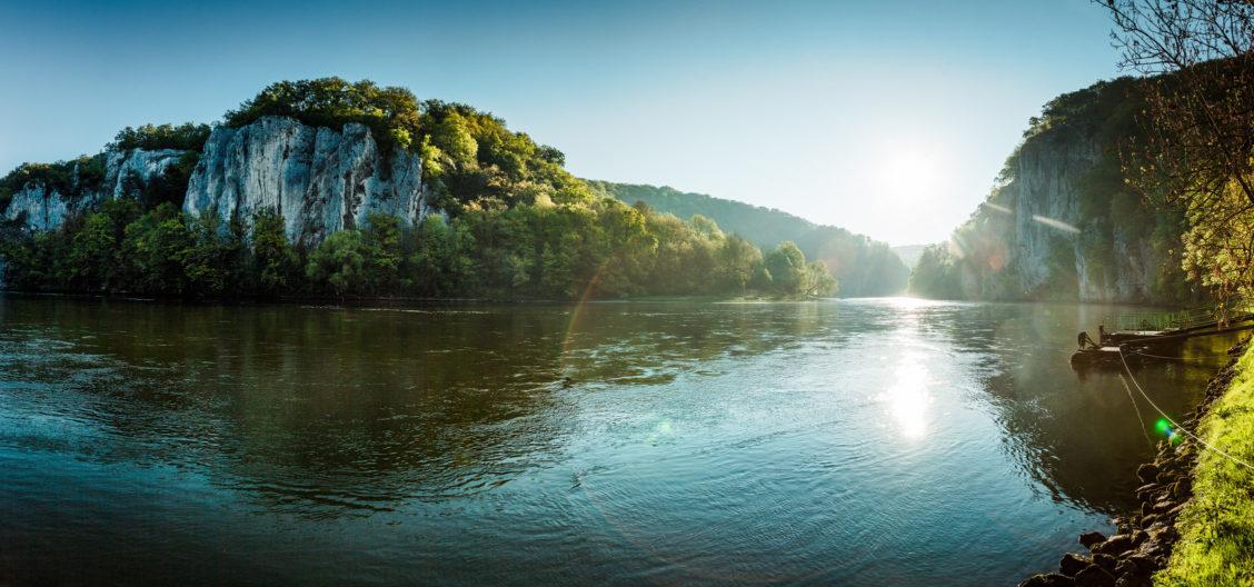 Donautal Weltenburg Durchbruch