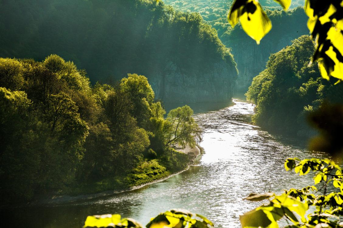 Donaudurchbruch Weltenburg in Bayern