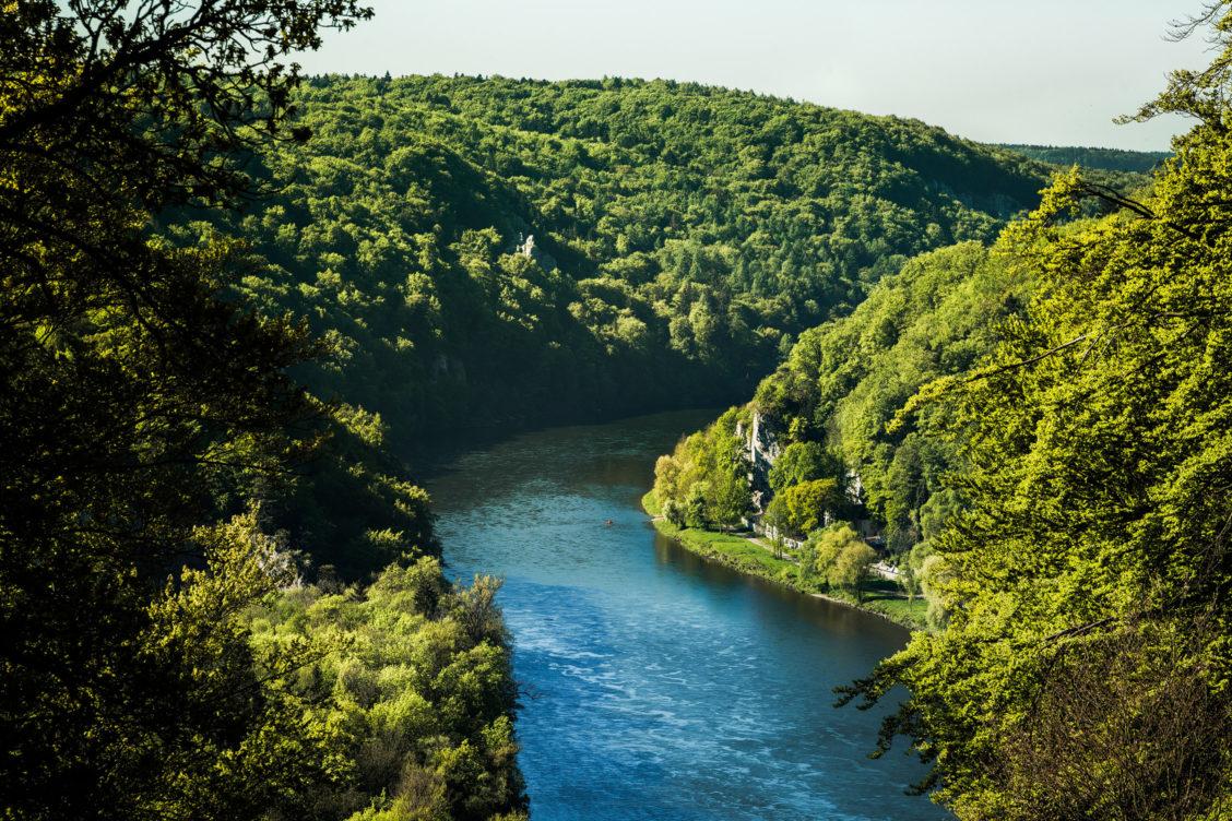 Donaudurchbruch Kanufahrer