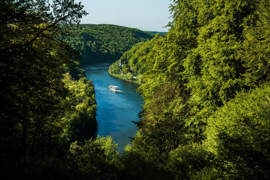 Schifffahrt Donaudurchbruch