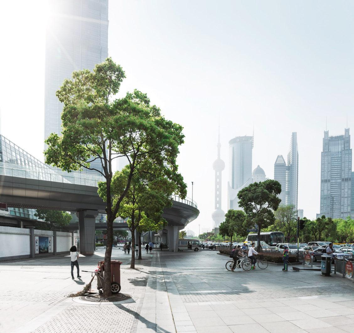 urban life Shanghai