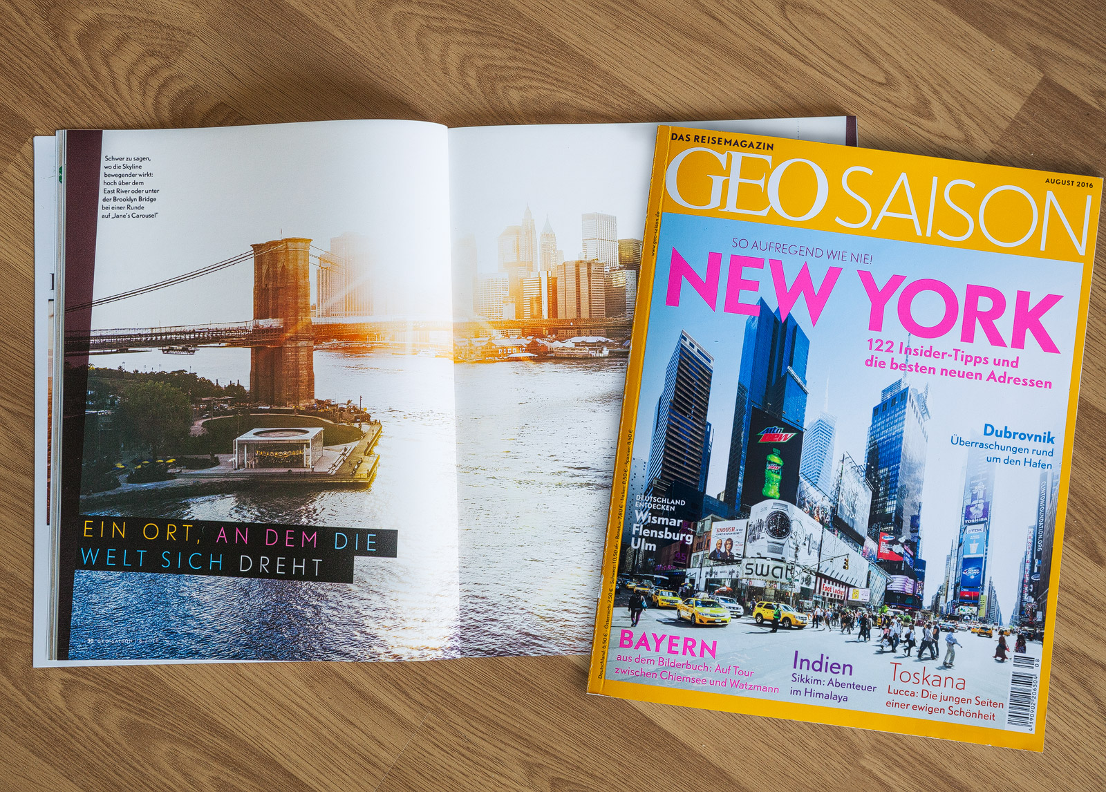 Geo Saison August 2016 New York
